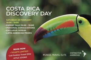 Tickets now available for our Costa Rica Discovery Day