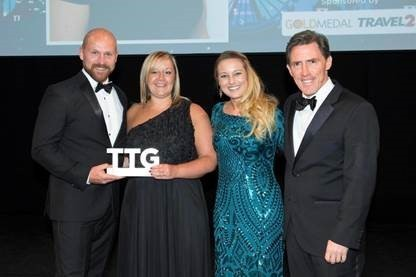 Sally wins TTG Agent of the Year