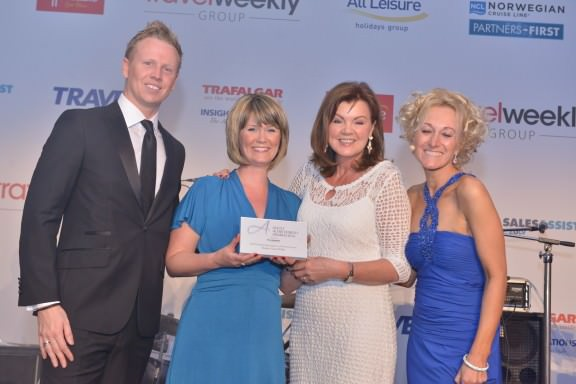 Peakes Travel Elite wins TIPTO Agent of the Year award 2014
