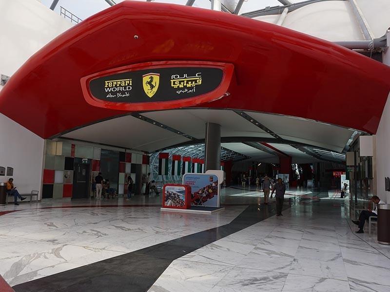 Ferrari World, Abu Dhabi, United Arab Emirates