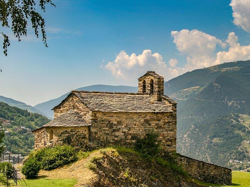 Church in Pyrenees, Andorra