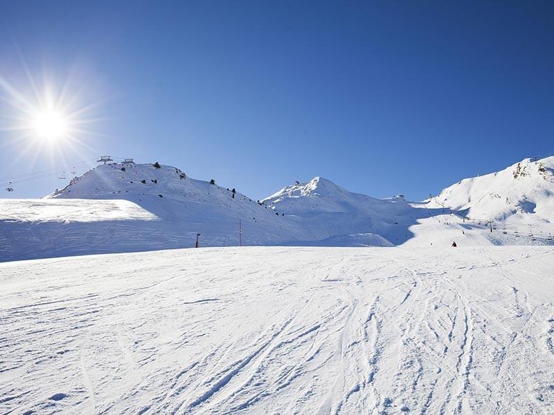 Ski Piste in Gran Nevada Andorra