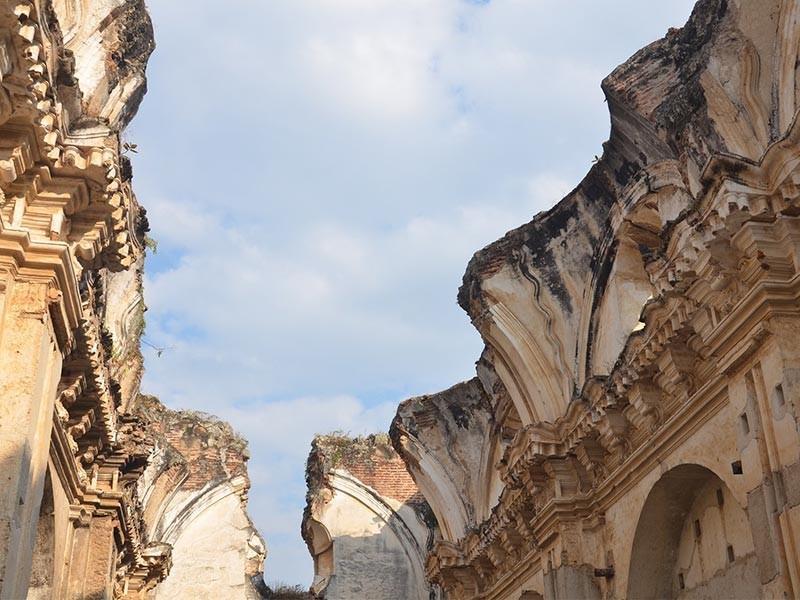 Ancient Building, Antigua
