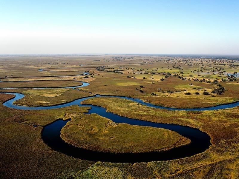 Shakawe, Botswana, Africa