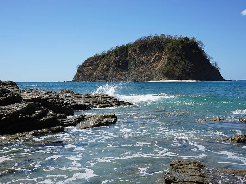 Costa rican beach