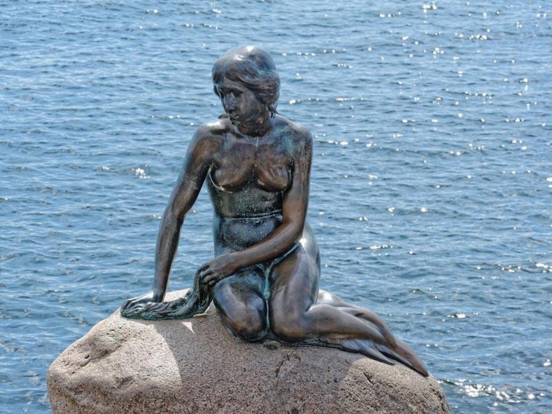 The Little Mermaid Status, Copenhagen, Denmark