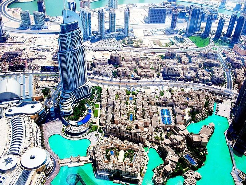 Dubai City View, UAE
