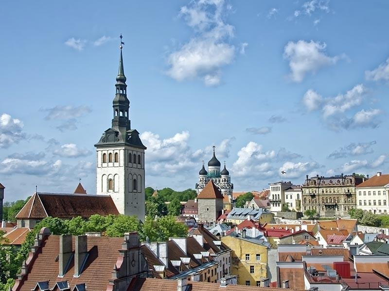 Talinn Skyline, Estonia