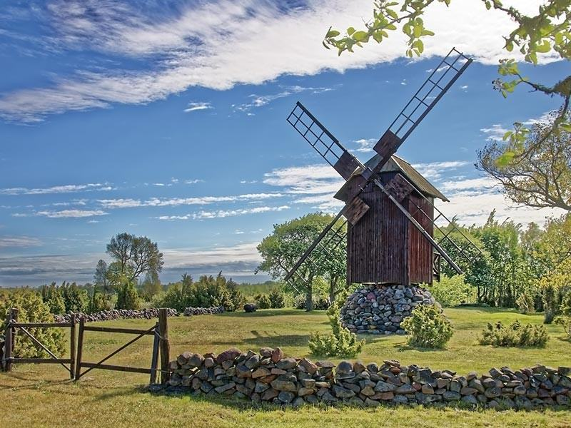 Windmill, Island of saaremaa, Estonia