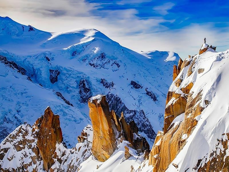 Cosmiques Ridge, Chamonix, France