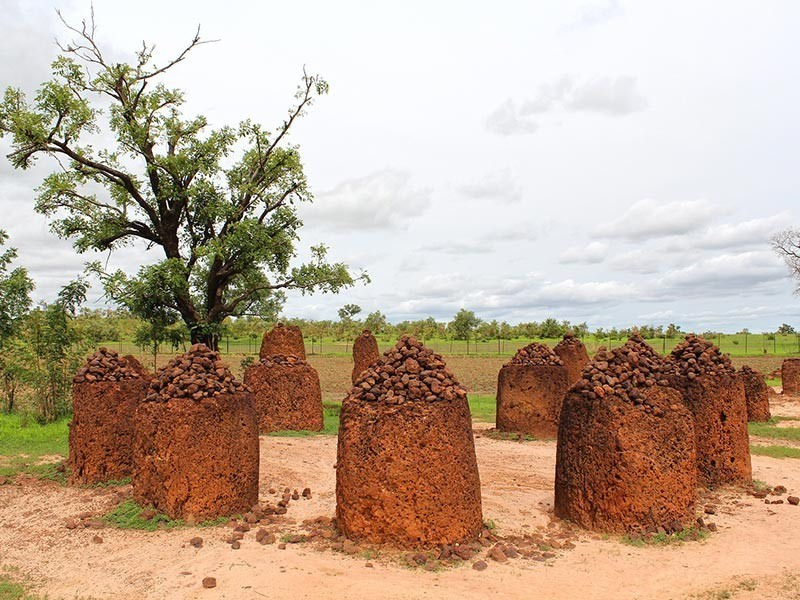 Wassu Stone Circle in Gambia