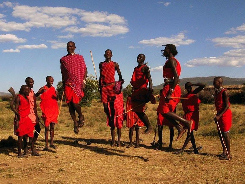 Masai Mara Tribe in Kenya, Africa