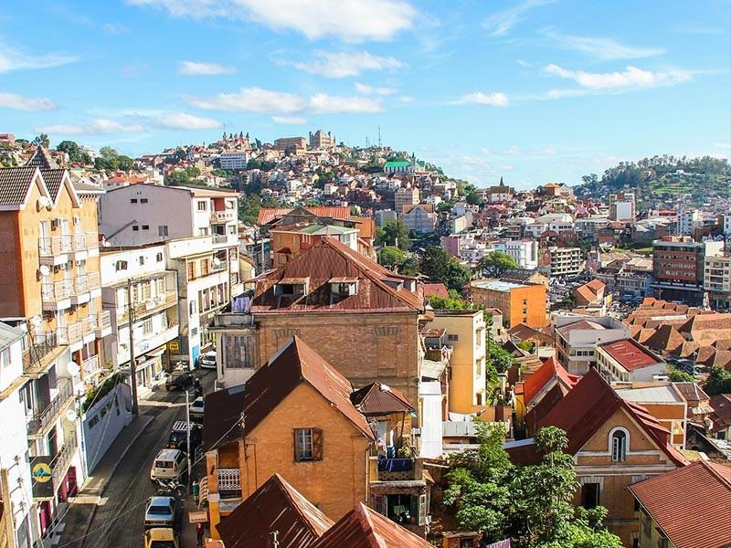 Antananarivo Town, Madagascar, Africa