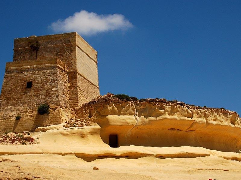 Fortress in Gozo, Malta