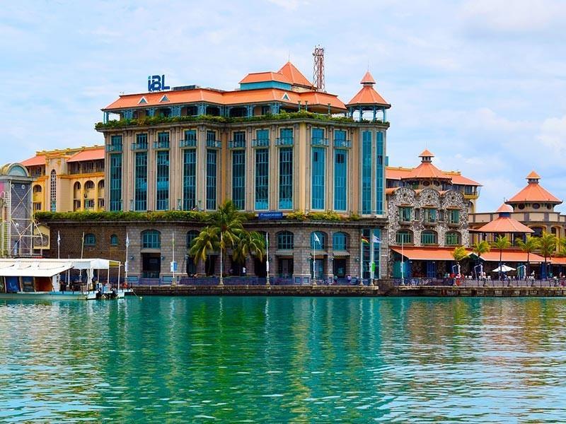 Port in Mauritius