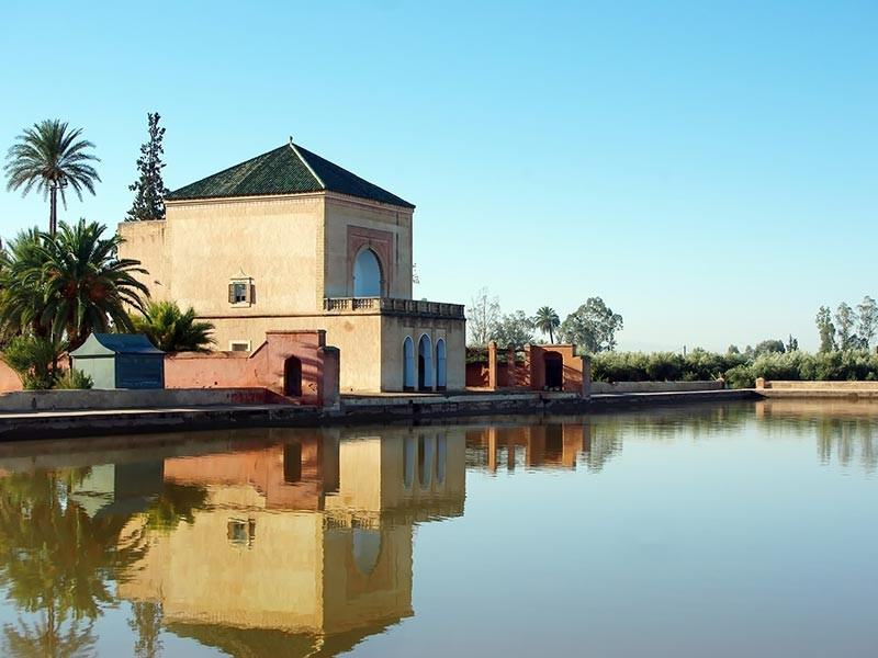 Menara Palace, Marrakech, Morroco