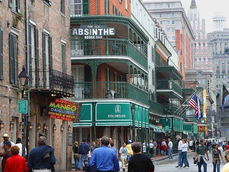 New Orleans' downtown