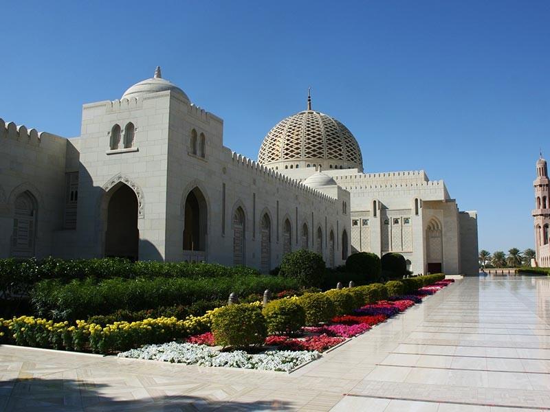 Grroße Mosque, Oman