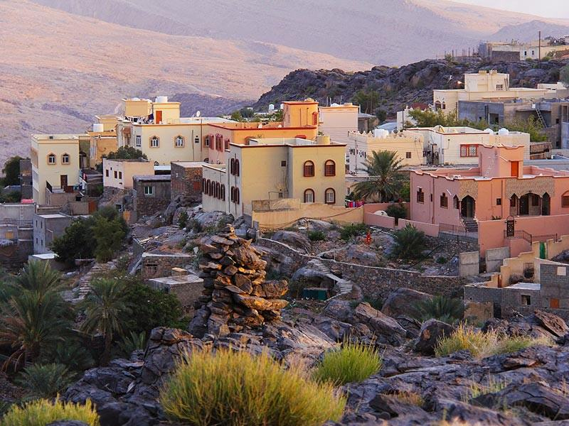 Mountain Houses in Oman