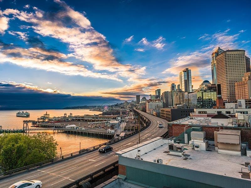 Seattle Marina Harbor