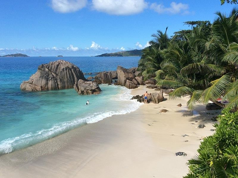 La Digue Beach, Seychelles, Indian Ocean
