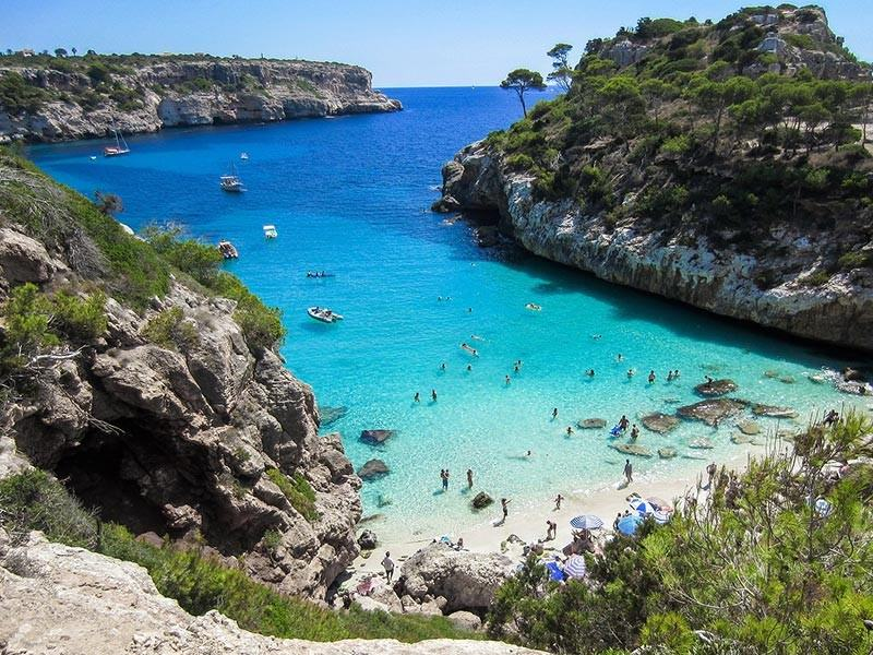 Beach in Mallorca, Spain