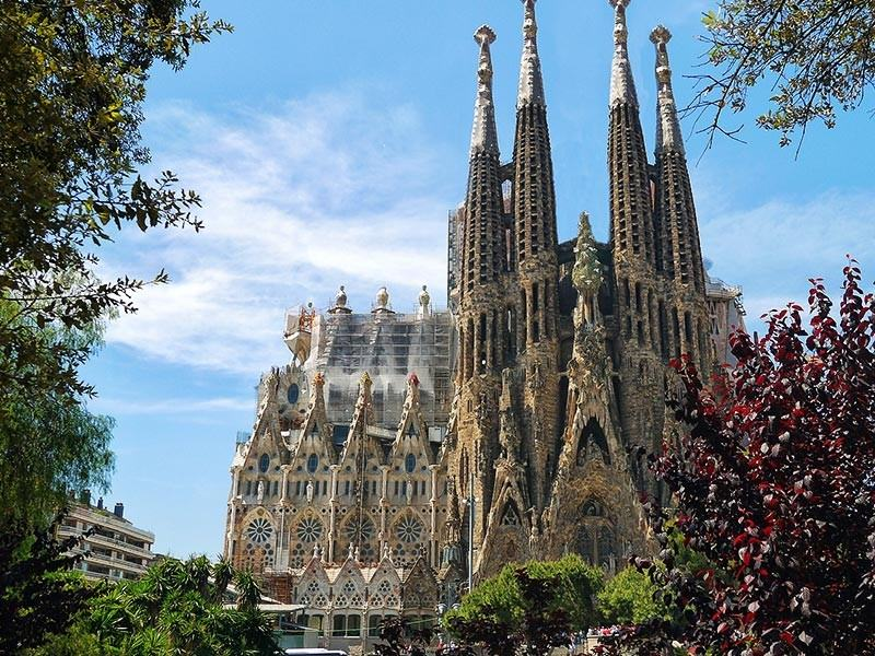 Sagrada Familia Church, Barcelona Spain