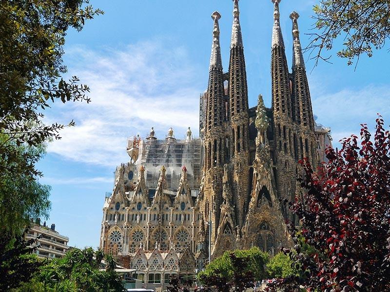 Sagrada Familia Church, Barcelona Spain