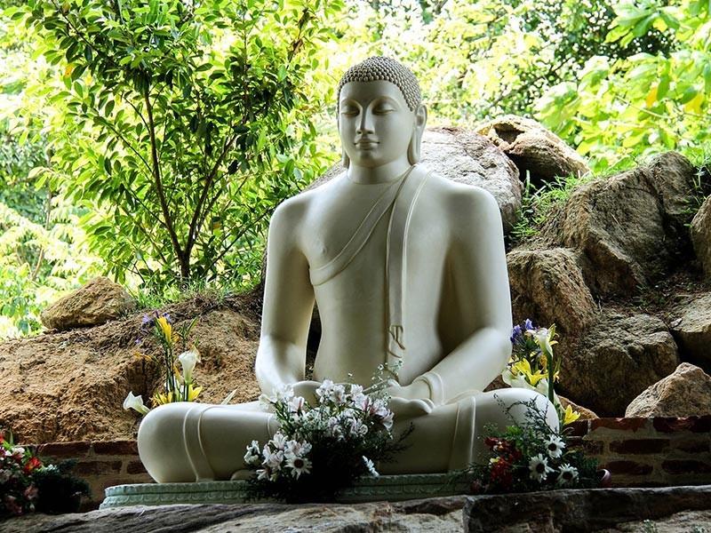 Buddha Statue in Sri Lanka, Indian Ocean