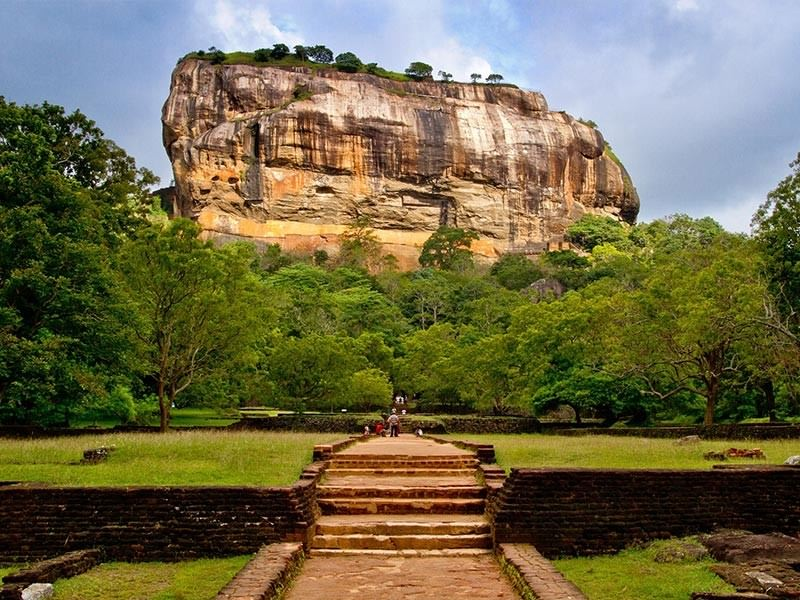 Sigiriya Mountain, Sri Lanka