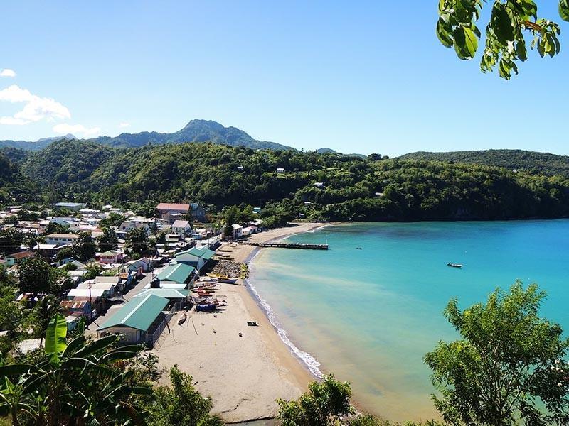 Sta Lucia beach