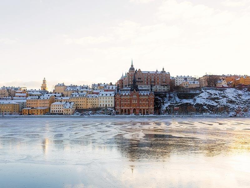 Stockholm, Sweden in Winter