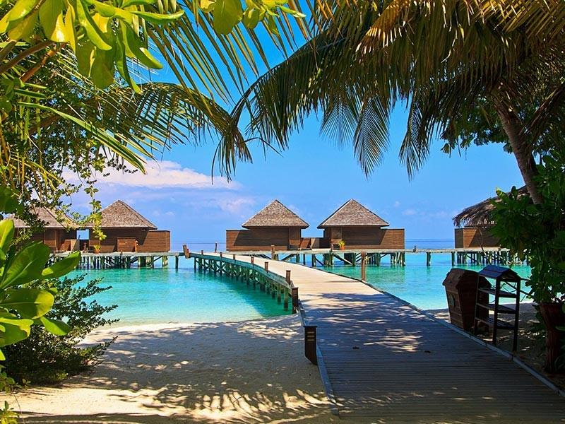 Over-Water Accommodation on Veligandu Island, Maldives