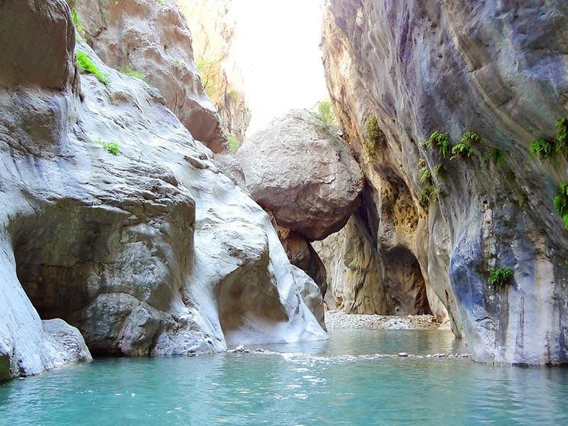 Goynuk Canyon, Kemer, Turkey
