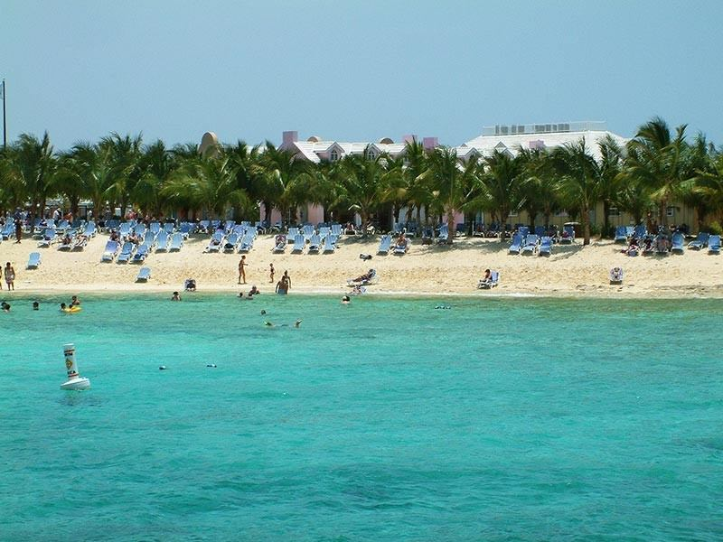 Islands beach side