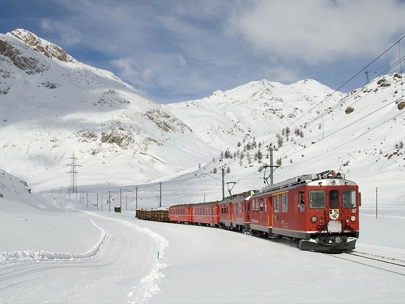 Snow Railway Holidays